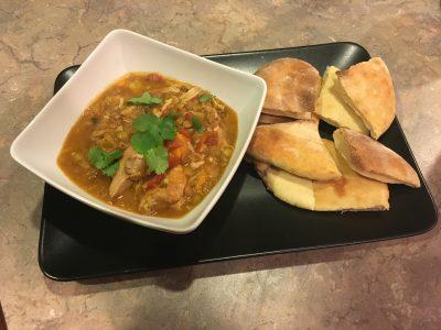 Moroccan Chicken & Lentils